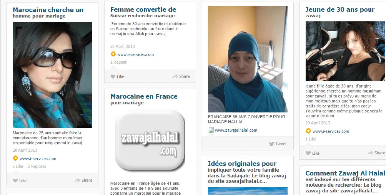 musulmans pour le mariage