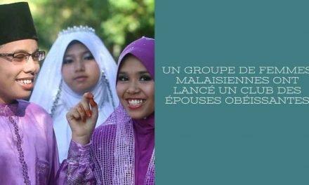 Un groupe de femmes malaisiennes ont lancé un Club des épouses OBÉISSANTES