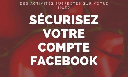 Vérifiez si quelqu'un d'autre utilise votre compte Facebook