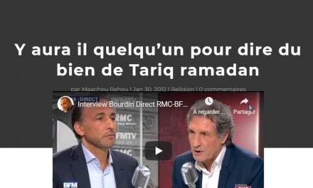 Y aura il quelqu'un pour dire du bien de Tariq ramadan