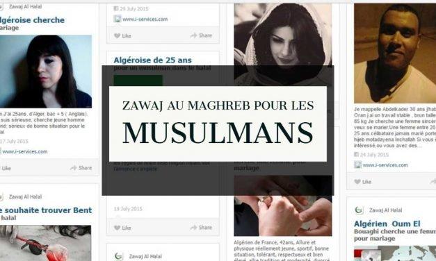 Zawaj au Maghreb pour les musulmans