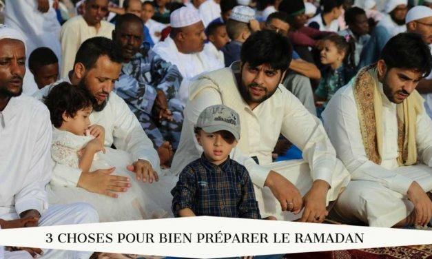 3 choses pour bien préparer le jeûne du Ramadan
