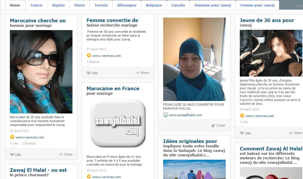 Les annonces de mariage pour musulmans sur le net