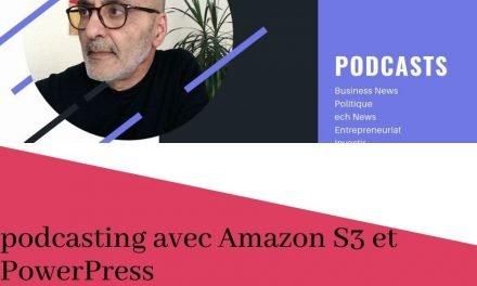 Comment j'ai créé mon flux de podcasting avec Amazon S3 et PowerPress