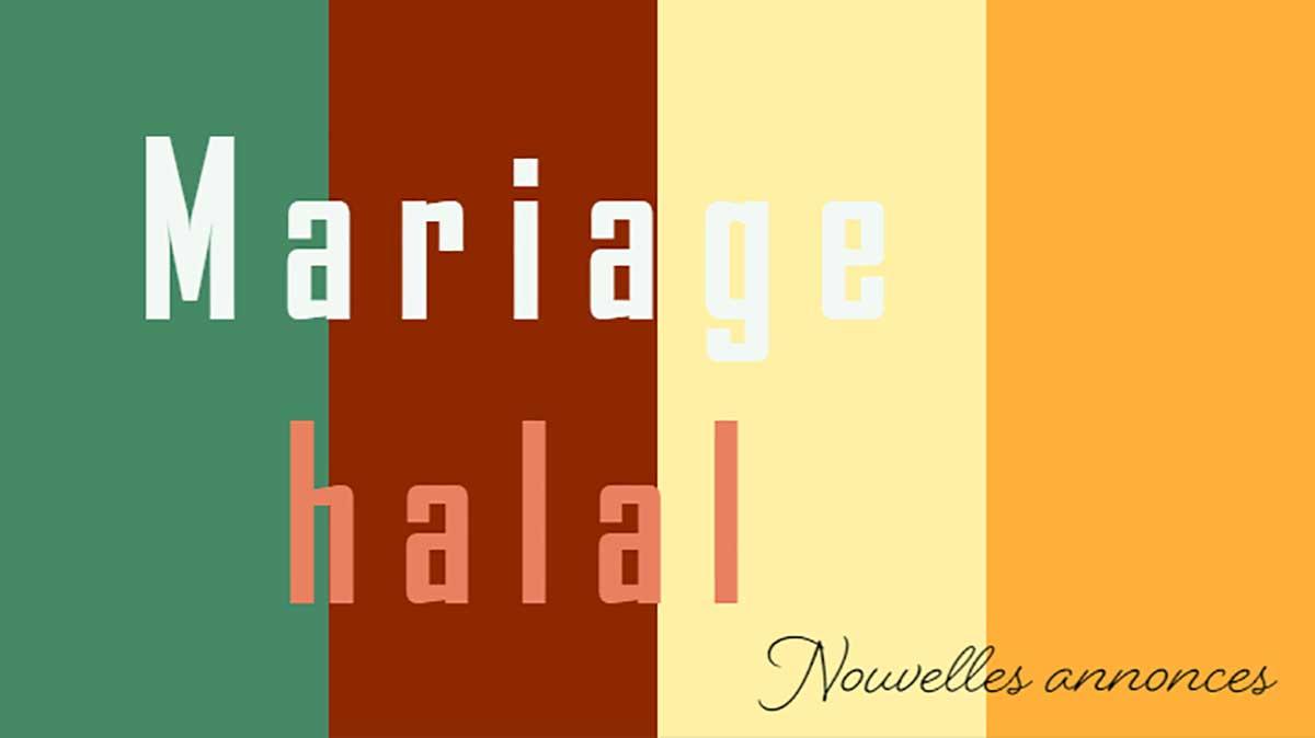 5 Annonces pour le mariage