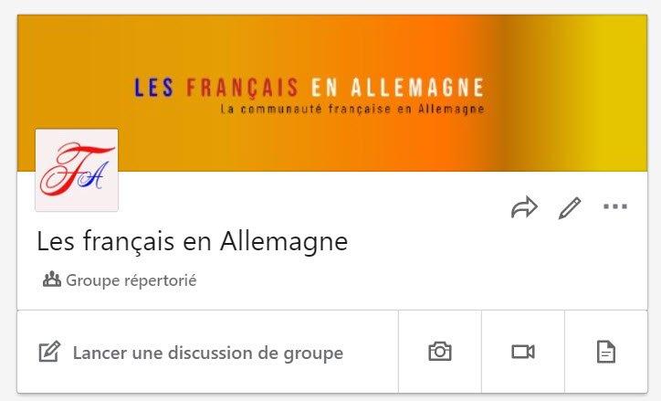 Les français en Allemagne sur la plateforme Linkedin