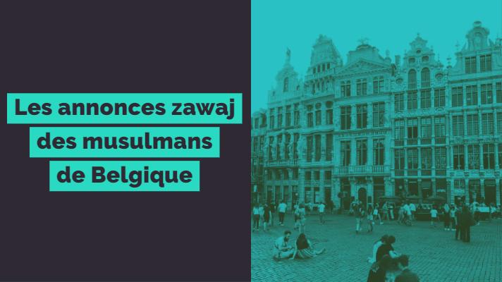Les annonces pour mariage halal en Belgique