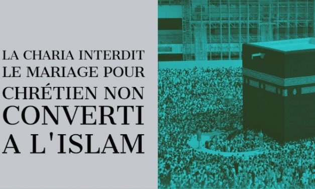 La charia interdit le mariage avec des non musulmans